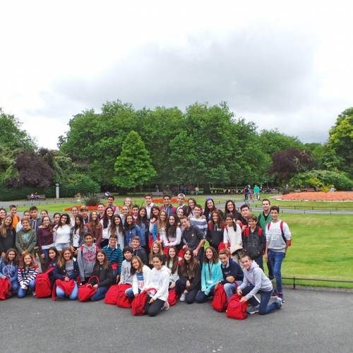 Españoles en Irlanda para el curso escolar