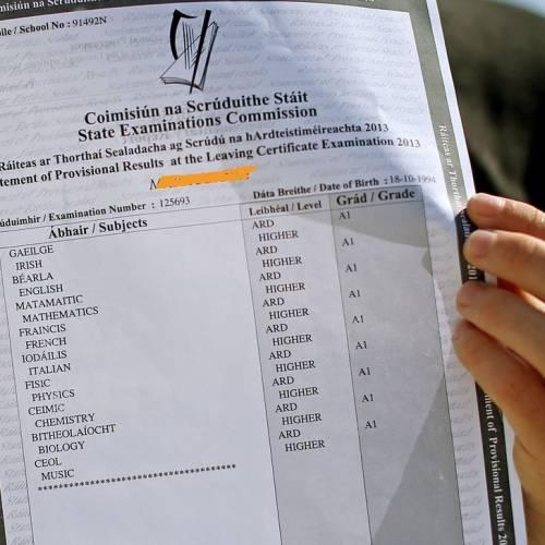Sistema educativo en Irlanda - Examen Leaving Certificate