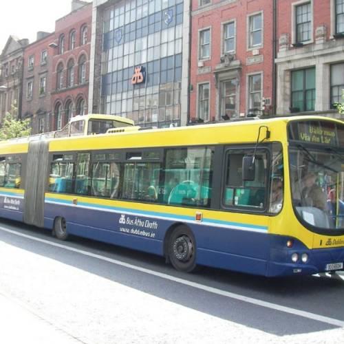Extensa red de autobuses