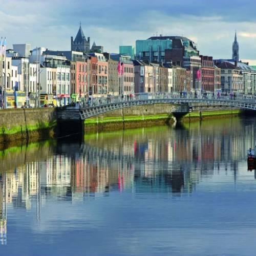 Rio Liffey en Dublín
