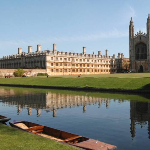 Panorámica de Cambridge