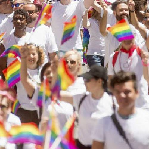 Desfile del orgullo gay en San Francisco