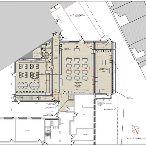 ampliación de instalaciones St Vincent's CBS School Glasnevin