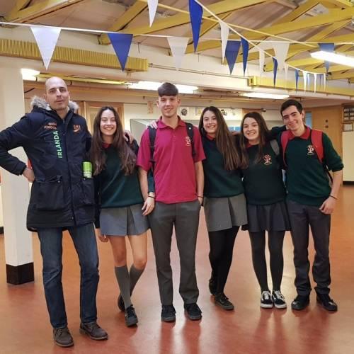 Estudiantes GMR en Waterford 2017-18