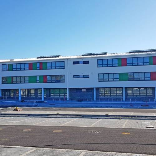 nuevo edificio de Tyndall College
