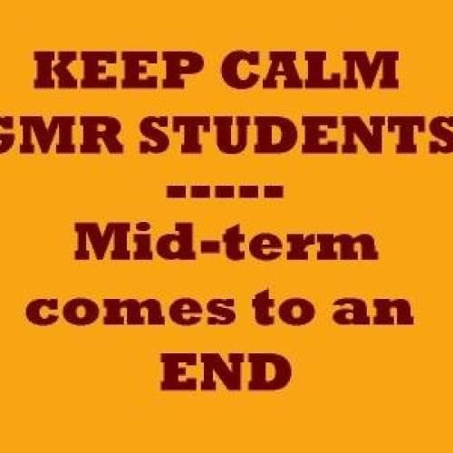 Mid term y Halloween en Irlanda con GMR