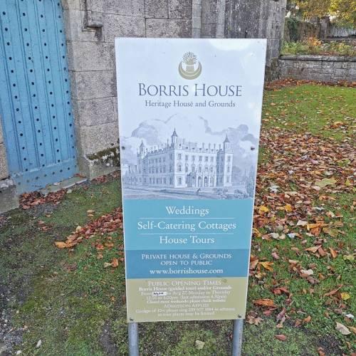 Borris House y el pueblo de Borris
