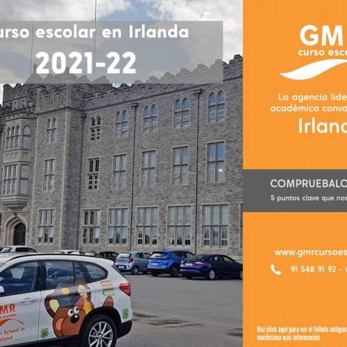 Folleto de curso escolar en Irlanda 2021/22